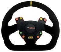 omp half round steering wheel