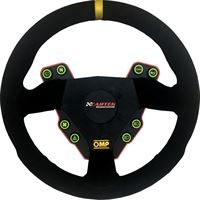 omp round steering wheel